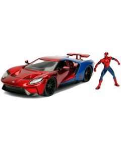 Spiderman Ford GT in Scala 1:24 - Simba 25002