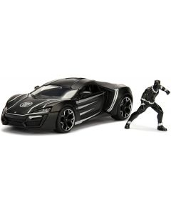 Black Panther Hypersport in Scala 1:24 - Simba 25004
