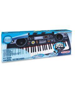 Tastiera Digitale Elettronica 61T Con USB - Bontempi 166118