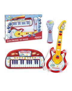 Set Tastiera Chitarra E Microfono - Bontempi 602150