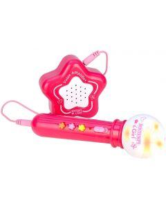 Microfono Karaoke Igirl con Amplificatore Esterno - Bontempi BAM4171