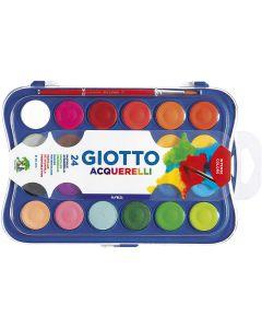Fila Giotto Acquerelli 24 Colori con Pennello