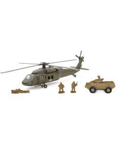 Elicottero Playset Militari 4 Ass. - New Ray 21833