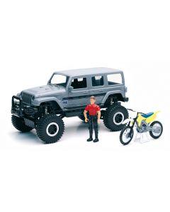 Auto 1:18 Jeep con Personaggio