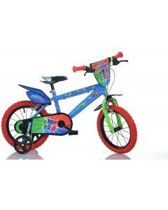 "Bicicletta per Bambini 14"" PJ Masks - Dino Bikes 14UPJ"