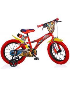 "Bicicletta Gormiti 14"" - Dino Bikes 614GR"