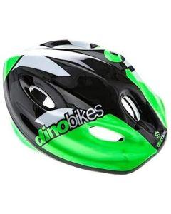 Casco Bici Bimbo Verde/Nero