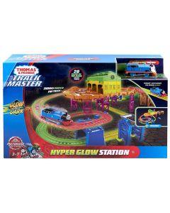 Thomas & Friends- Playset Pista Stazione Fluorescente, FJL41