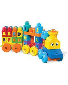Mega Bloks il Treno dell' Alfabeto - Mattel FWK22