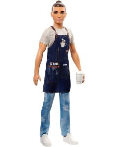 Barbie Ken Barista - Mattel FXP01