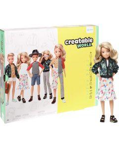Creatable World - Kit Deluxe Bambola con Accessori - Mattel GGT67