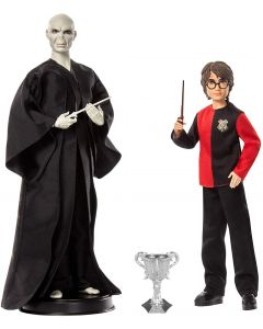 Harry Potter Confezione​ di 2 Personaggi Voldemort + Harry - Mattel GNR38