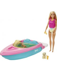 Barbie Barca C/Doll - Mattel GRG30