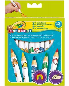 Crayola: 8 Maxi Matite Colorate Mini Kids