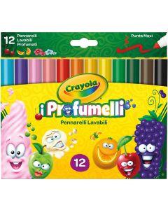 I Profumelli  12 Pennarelli Lavabili e Profumati - Crayola 588337