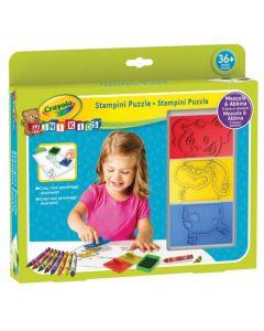 Crayola Set stampini Puzzle Mini Kids