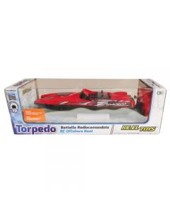 Torpedo Motoscafo R/C Con Funzione Turbo - Reel Toys 1483
