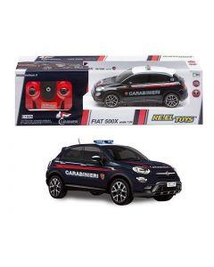 Fiat 500X Carabinieri 1:24 Con Radiocomando E Luci 20 Cm - Reeltoys 2185