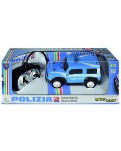 Reel Toys: Fuoristrada Radiocomandato Polizia Sc.1:26