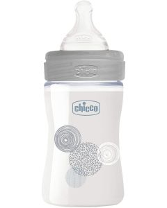 Chicco Biberon Glass 150ml Usx Silicone