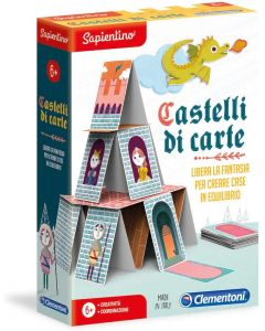 Sapientino - Castelli di Carte - Clementoni 16241