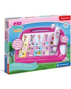 Travel Quiz Cry Babies elettronico - Clementoni 16277