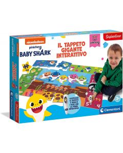 Tappeto Gigante interattivo Baby Shark - Clementoni 16281