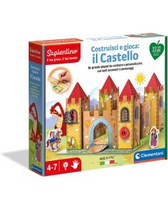 Sapientino Costruisci e Gioca: Il Castello - Clementoni 16316