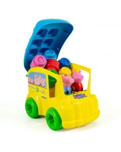 Soft Clemmy - Secchiello Bus Peppa Pig