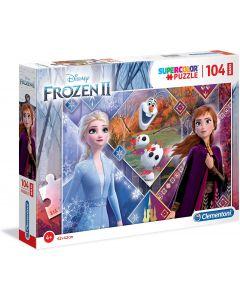 Puzzle Disney Frozen 2 104 Maxi Pezzi - Clementoni 23739