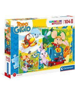 Clementoni Puzzle Maxi 140 Pezzi Topogigio 23756
