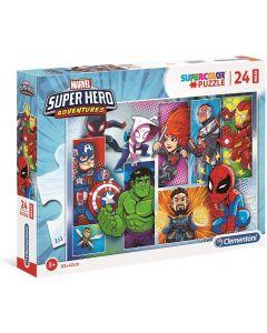 Puzzle Super Hero Avengers 24 Maxi Pezzi - Clementoni 24208