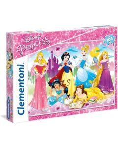 Le Principesse Disney Puzzle, 104 Pezzi - Clementoni 27086