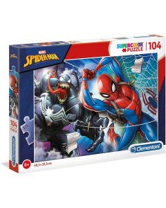 Puzzle Spider Man 104 Pezzi - Clementoni 27117
