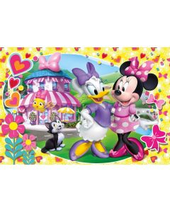 Minnie Happy Helpers Puzzle Maxi, 104 Pezzi - Clementoni 27982