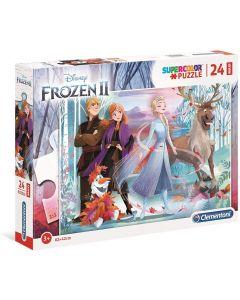 Puzzle Disney Frozen 2 24 Maxi Pezzi - Clementoni 28513