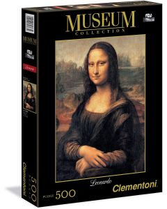 Mona Lisa Museum Collection Puzzle, 500 pezzi - Clementoni 30363