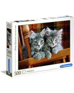 High Quality Collection Puzzle - Kittens - 500 Pezzi - Clementoni 30545