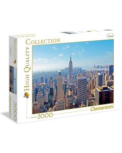 High Quality Collection Puzzle - New York - 2000 Pezzi - Clementoni 32544