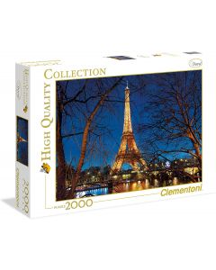 High Quality Collection Puzzle - Parigi - 2000 Pezzi - Clementoni 32554