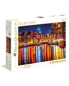 Amsterdam High Quality Collection Puzzle 500 pezzi - Clementoni 35037