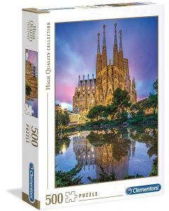 Collection Puzzle-Barcelona-500 Pezzi - Clementoni 35062