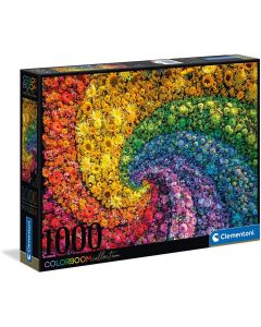 Puzzle Colorboom Collection-Whirl Adulti 1000 pezzi - Clementoni 39594