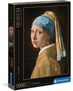 Clementoni Puzzle 1000 Pezzi Museum Girl With Pearl 39614