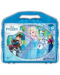 Frozen Puzzle Cubi, 12 Pezzi - Clementoni 41186