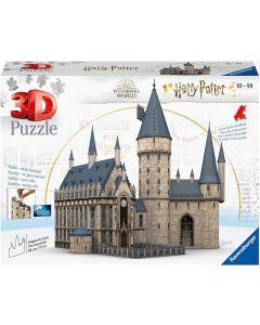 Ravensburger Puzzle 3D, Harry Potter Castello di Hogwarts Sala Grande, 540 Pezzi