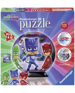 Puzzle 3D Ball Pj Masks - Ravensburger 11781