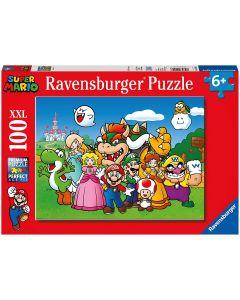 Ravensburger Puzzle, Super Mario, Puzzle 100 Pezzi XXL