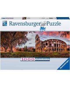 Ravensburger Puzzle Puzzle 1000 Pezzi, Colosseo al Tramonto