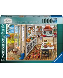 Ravensburger Puzzle 1000 Pezzi, Country Kitchen